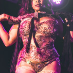 Donna Denise performing at the 2015 New York Burlesque Festival Saturday Night Spectacular at B.B. King Blues Club.