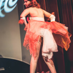 Dottie Champagne performing at Peepshow Go: A Pokemon Burlesque Tribute, The Great Hall, Toronto.