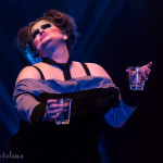 Dottie Dangerfield performing at the 2016 Toronto Burlesque Festival Saturday night late show, Stars of the Screen, at the Virgin Mobile Mod Club.