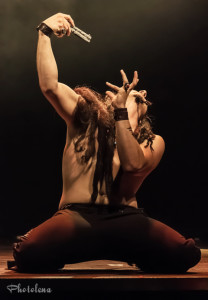 El Toro performing at the 2014 Toronto Burlesque Festival Day 3