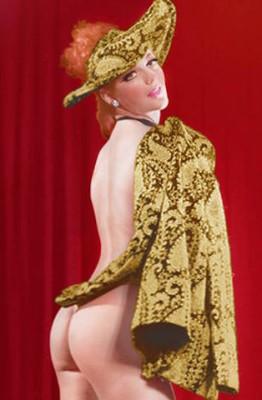 Australia burlesque legend, Elizabeth Burton.