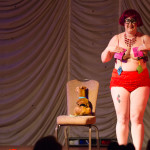 Ellie Quinn performing at the 2015 Great Burlesque Exposition 9, The Main Event.
