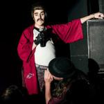Ernie Von Schmaltz performing at the 2nd annual Seattle Boylesque Festival.