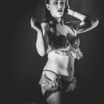 Esther deVille performing at the Toronto Burlesque Festival Teaser show, Bombshell