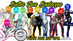 Keister Productions presents Butter Face Burlesque @ Coney Island USA | Pacific Grove | California | United States