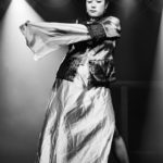 Fan Tan Fanny performing at the Bad Girls of History burlesque show in Toronto.