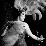 Fannie Spankings performing at Burlesque on Broadway at Lannie's Clocktower Cabaret in Denver, Colorado.