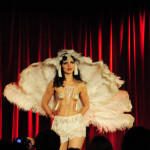 Fanny D'amour performing at the 2016 New York Burlesque Festival Thursday night show at The Bell House.