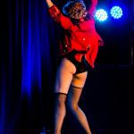Felix Elixir performing at Vermont Burlesque Festival 2016 Saturday Night Extravaganza.