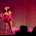 Femme Brulee performing at the 2015 Great Burlesque Exposition day 1 show, The Rhinestone Revue