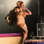 Fionna Flauntit performing at the 2014 Toronto Burlesque Festival Day 2