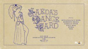 Jaeda's Dance Card @ Tabu   Philadelphia   Pennsylvania   United States
