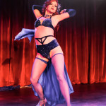 Francine the Lucid Dream performing at the 2014 New York Burlesque Festival
