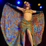 Gal Friday performing at the 2013 Wasabassco Burlesque Ninth Anniversary Show
