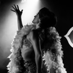 Gal Friday performing at the 2015 New York Burlesque Festival Saturday Night Spectacular at B.B. King Blues Club.