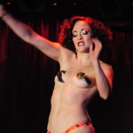 Gal Friday performing at the New York Burlesque Festival 2016 Saturday night Extravaganza at BB Kings.