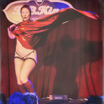 Gal Friday performing at the 2014 New York Burlesque Festival