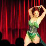 Gigi Bonbon performing at the 2016 New York Burlesque Festival Thursday night show at The Bell House.