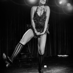 Gin Minsky performing at the 2014 New York Burlesque Festival