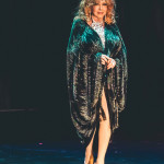 Gina Bon Bon onstage for the 2015 Burlesque Hall of Fame Weekend Legends of Burlesque Walk of Fame.