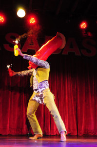 Go-Go Harder performing at the 2013 Wasabassco Burlesque Ninth Anniversary Show
