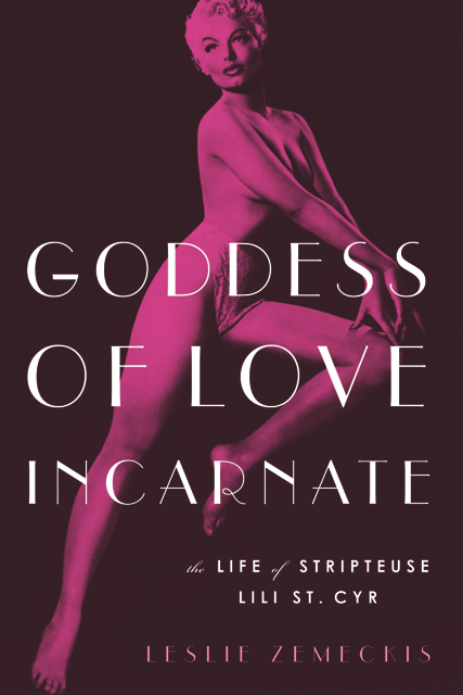 Book cover of Leslie Zemeckis' Goddess of Love Incarnate