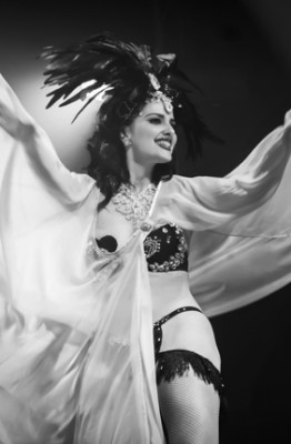 Grace Hall performing at the 2014 Toronto Burlesque Festival Day 2