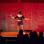 Hard Corey performing at the 2015 Great Burlesque Exposition 9, The Main Event.
