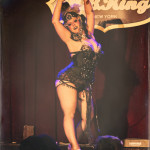Helen Pontani performing at the 2014 New York Burlesque Festival
