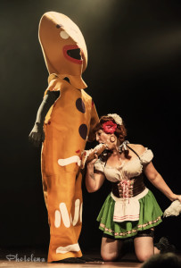Honey B Hind and SMB performing at the 2014 Toronto Burlesque Festival Day 3