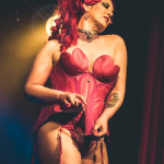 Honey Behind performing at Skin Tight Outta Sight Rebel Burlesque's 2017 Voulez-Vous Valentine show at Revival bar in Toronto.