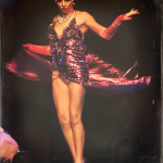 Imogen Kelly performing at the 2014 New York Burlesque Festival