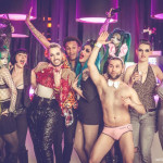 Jacques Patriaque's Vienna burlesque show, Imperial Madness: Easter Honeymoon, on APril 5th, 2015.