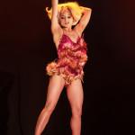 Inga Ingenue performing at the 2014 Toronto Burlesque Festival