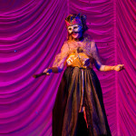 JZ Bich performing at the 2015 Great Burlesque Exposition day 1 show, The Rhinestone Revue