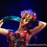 Jenny C Quoi performing at Hotsy Totsy Burlesque show Wizard of Oz Burlesque at the Slipper Room, NYC.