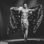 Jett Adore performing at the Toronto Burlesque Festival Teaser show, Bombshell