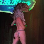 Jo Boobs performing at the New York Burlesque Festival 2016 Saturday night Extravaganza at BB Kings.