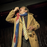 Joe Morose performing at Cabaret Roulette in London