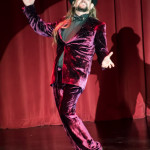 Johnny Porkpie performing at the Burlesque Hall of Fame 2016 Saturday night Miss Exotic World Tournament of Tease.