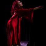 Darlinda Just Darlinda performing at New Orleans burlesque show The Joy of Tease