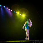 Madonnathan performing at New Orleans burlesque show The Joy of Tease