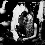 Madonnathan Backstage at New Orleans burlesque show The Joy of Tease