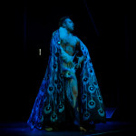 Jett Adore performing at New Orleans burlesque show The Joy of Tease
