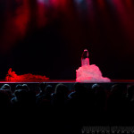 Michelle L'amour performing at New Orleans burlesque show The Joy of Tease