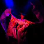 Kaoru performing at The 3rd Annual Asian Burlesque Spectacular at Drom NYC.