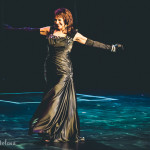 Kim Summers onstage for the 2015 Burlesque Hall of Fame Weekend Legends of Burlesque Walk of Fame.