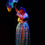 Kimchichi performing at The 3rd Annual Asian Burlesque Spectacular at Drom NYC.