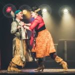 Kit Boulter and Devin Upham performing at the Bad Girls of History burlesque show in Toronto.