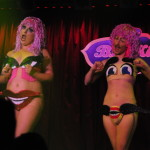 Kitten N' Lou performing at the New York Burlesque Festival 2016 Saturday night Extravaganza at BB Kings.
